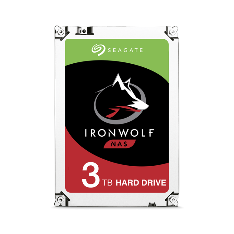 "HD Seagate IronWolf 3.5"" SATA 3TB"