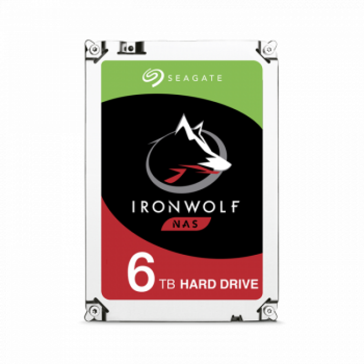 Seagate Ironwolf | 6tb | Hd Interno | 3.5'' Sata 3